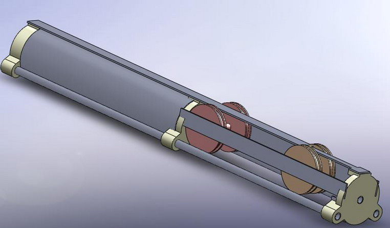 Предложеная схема арбалета