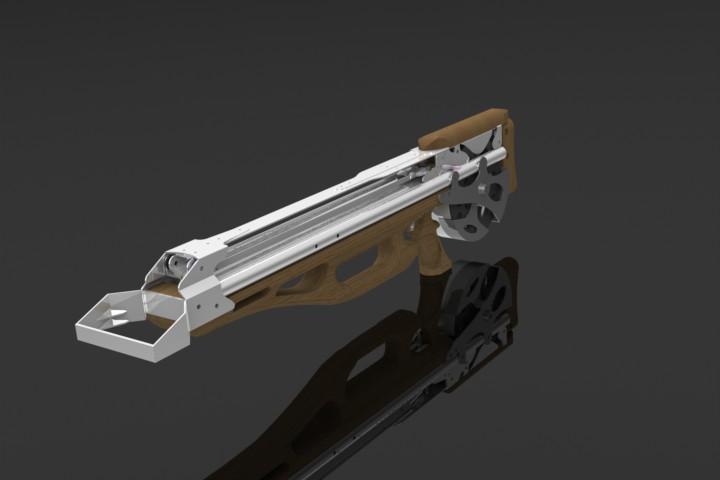 Арбалет pitbull ii модификация с трубами 25